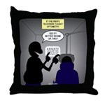 Is it Better 1 or 2? Throw Pillow