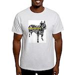 Boston Collage Ash Grey T-Shirt