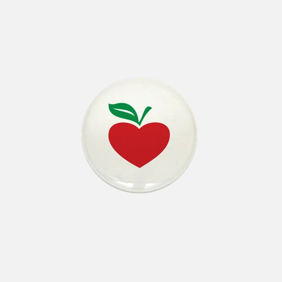 Apple heart Mini Button