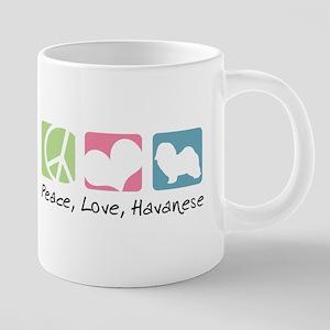 Peace, Love, Havanese Mugs
