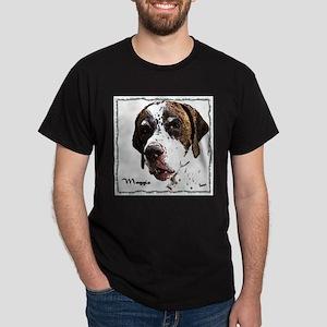 Maggie the English Pointer Dark T-Shirt