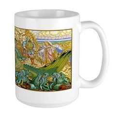 The Maiden's Rescue Large Mug