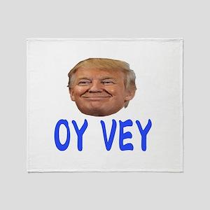 OY VEY Throw Blanket