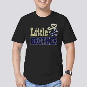 Little Brother Cute Nautical Anchor and Heart T-Sh