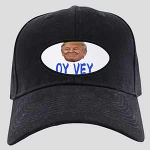 OY VEY Black Cap with Patch