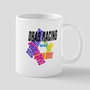 Drag Racing Mugs