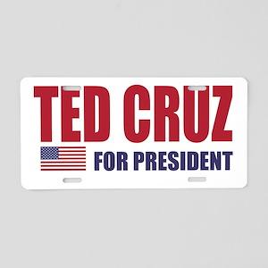 TED CRUZ FOR PRESIDENT Aluminum License Plate