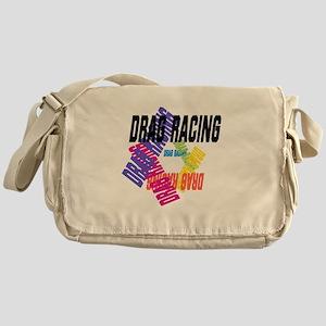 Drag Racing Messenger Bag
