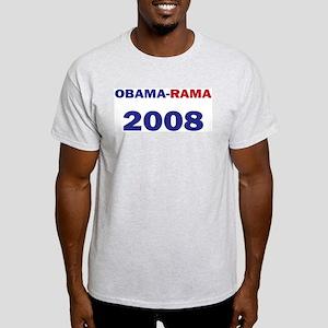 Obama-rama 08 A Ash Grey T-Shirt