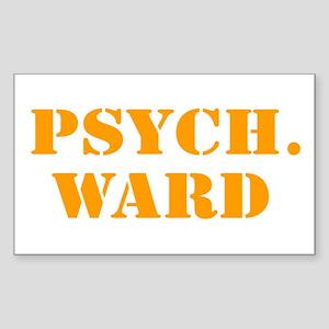 Psych. Ward Sticker