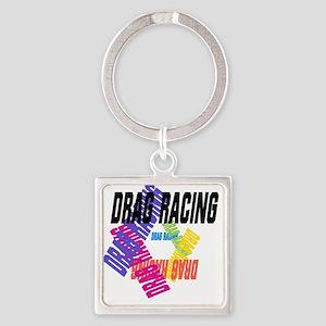 Drag Racing Keychains