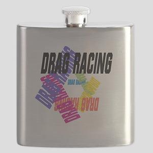 Drag Racing Flask