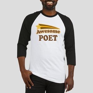 Awesome Poet Baseball Jersey