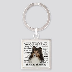 Sheltie Traits Keychains