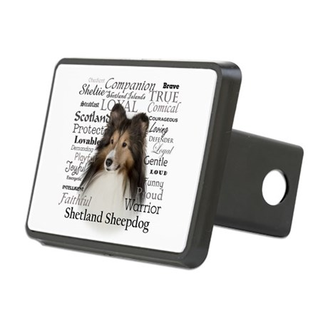 Sheltie Traits Hitch Cover