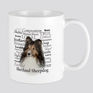 Sheltie Traits Mugs