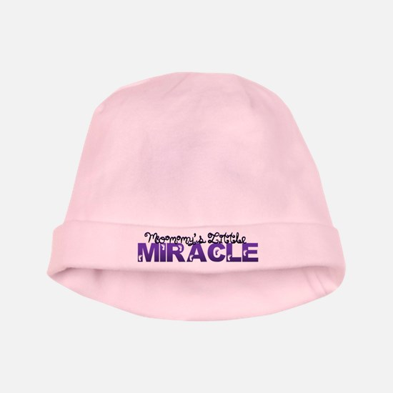Mommys Little Miracle baby hat