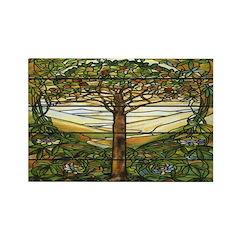 Tiffany Landscape Rectangle Magnets (10 pack)