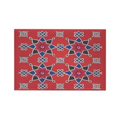 Red Beauty Rectangle Magnets (10 pack)