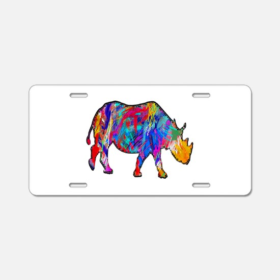 LIGHTED WAY Aluminum License Plate