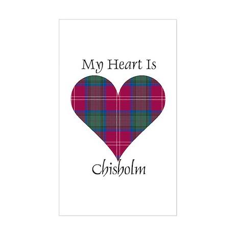 Heart - Chisholm Sticker (Rectangle)