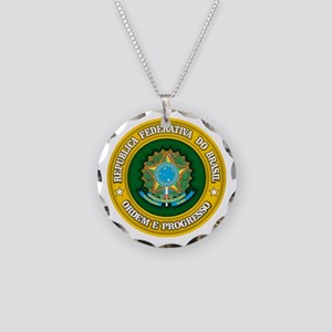 Brazil Medallion Necklace