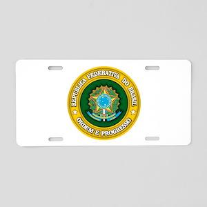 Brazil Medallion Aluminum License Plate