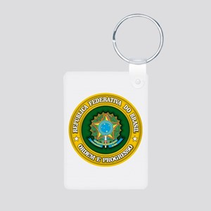 Brazil Medallion Keychains
