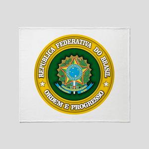 Brazil Medallion Throw Blanket