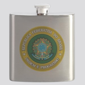Brazil Medallion Flask
