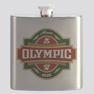 Olympic Old Label Flask