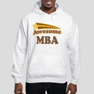Awesome MBA Hooded Sweatshirt