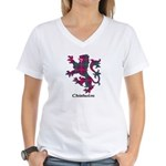 Lion - Chisholm Women's V-Neck T-Shirt