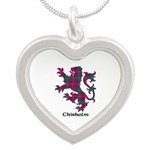 Lion - Chisholm Silver Heart Necklace