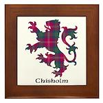 Lion - Chisholm Framed Tile