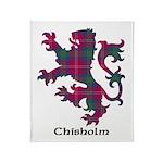 Lion - Chisholm Throw Blanket