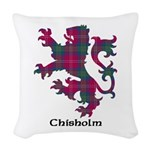 Lion - Chisholm Woven Throw Pillow