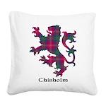 Lion - Chisholm Square Canvas Pillow