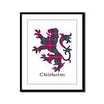 Lion - Chisholm Framed Panel Print