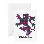 Lion - Chisholm Greeting Card