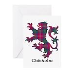 Lion - Chisholm Greeting Cards (Pk of 10)