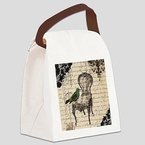 lace chandelier paris fashion Canvas Lunch Bag