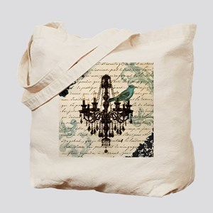 lace chandelier paris fashion Tote Bag