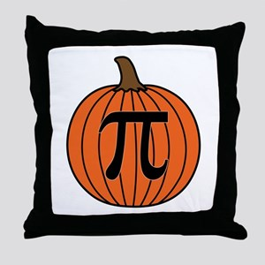 Pumpkin Pi Throw Pillow