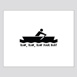 Row Row Row Your Boat Small Poster