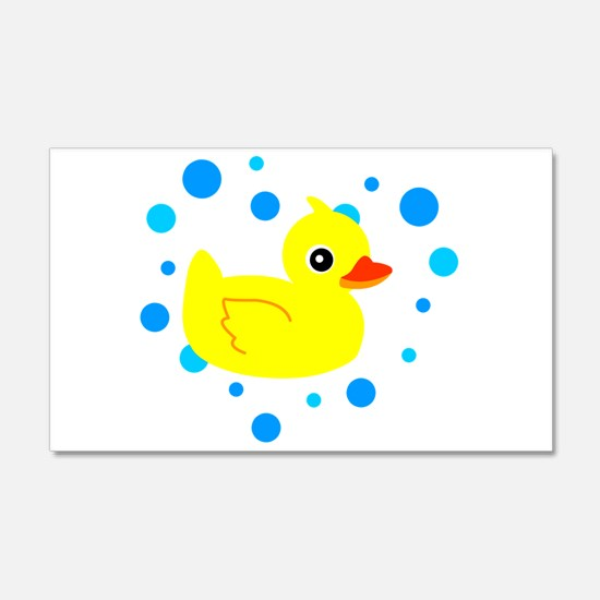 Colorful Rubber Duck Wall Art Image Collection - Wall Art ...
