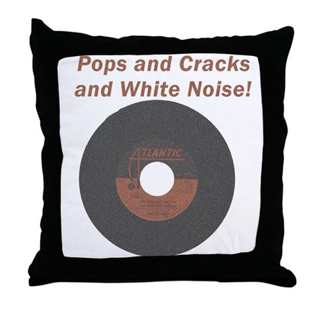 Pops and Cracks Throw Pillow