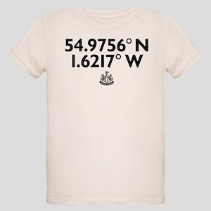 Newcastle United Stadium Coor Organic Kids T-Shirt