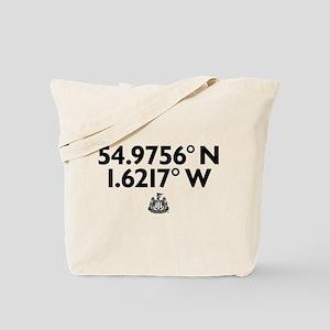 Newcastle United Stadium Coordinates Tote Bag
