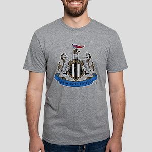 Vintage Newcastle United FC Mens Tri-blend T-Shirt